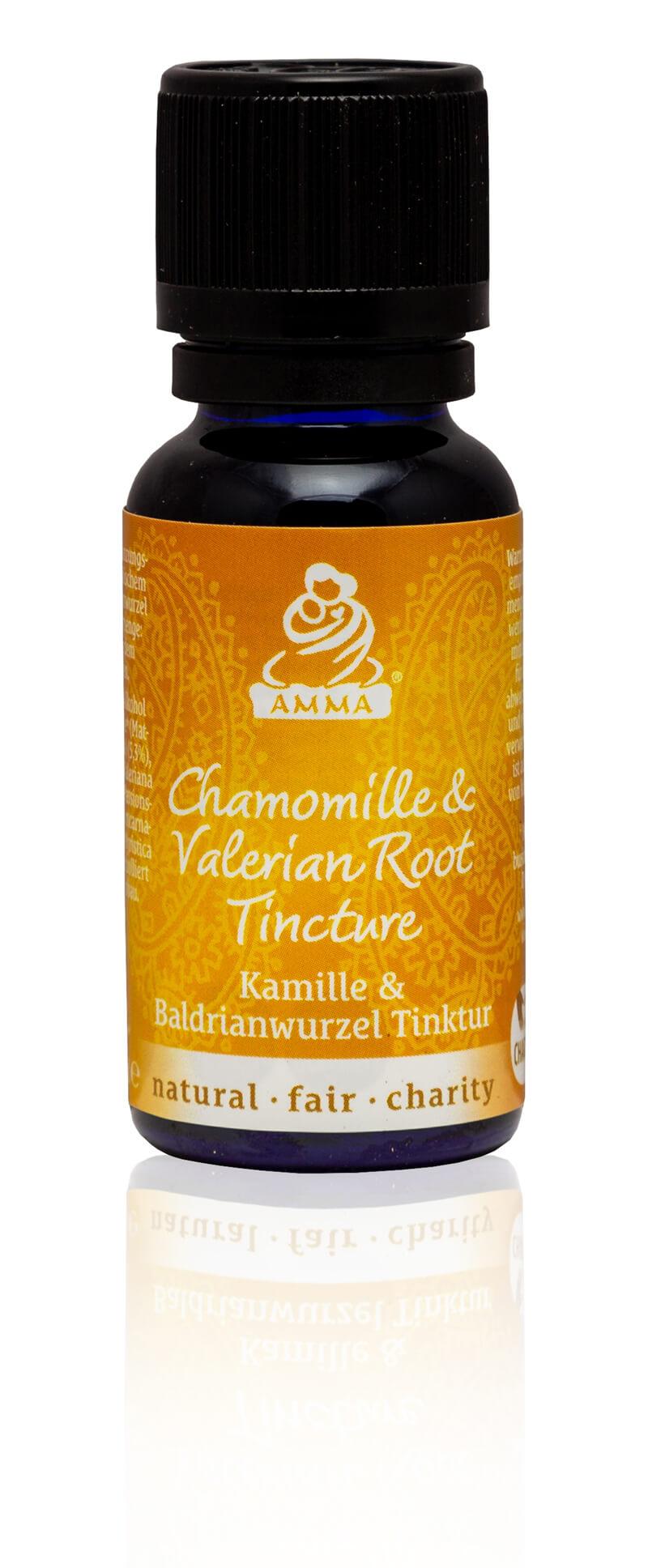 Chamomile & Valerian Root Tincture, organic