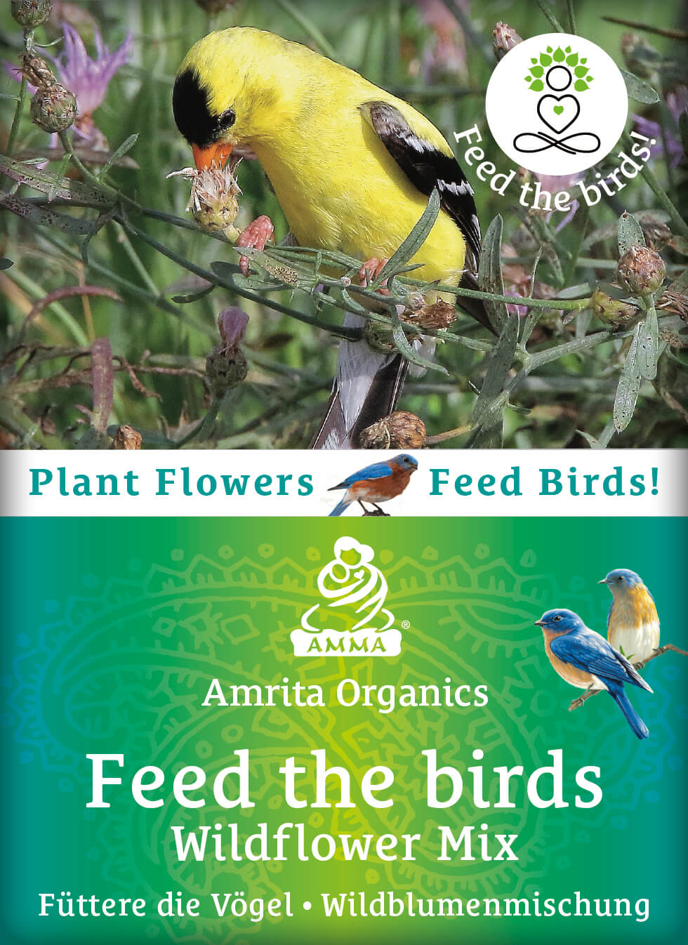 Feed the birds - Wildflower mixture, organic