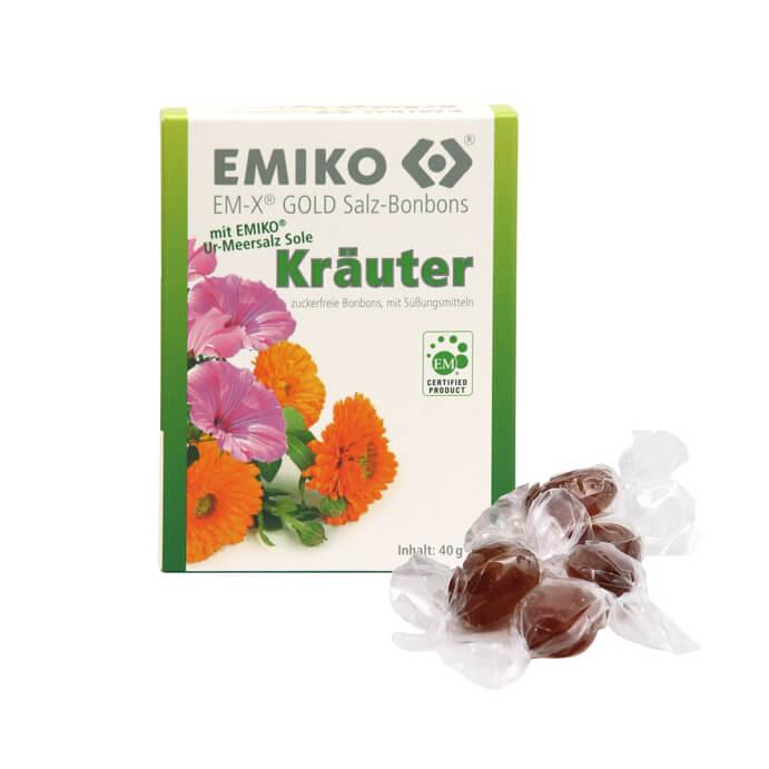EM-X Gold salt candy herbs