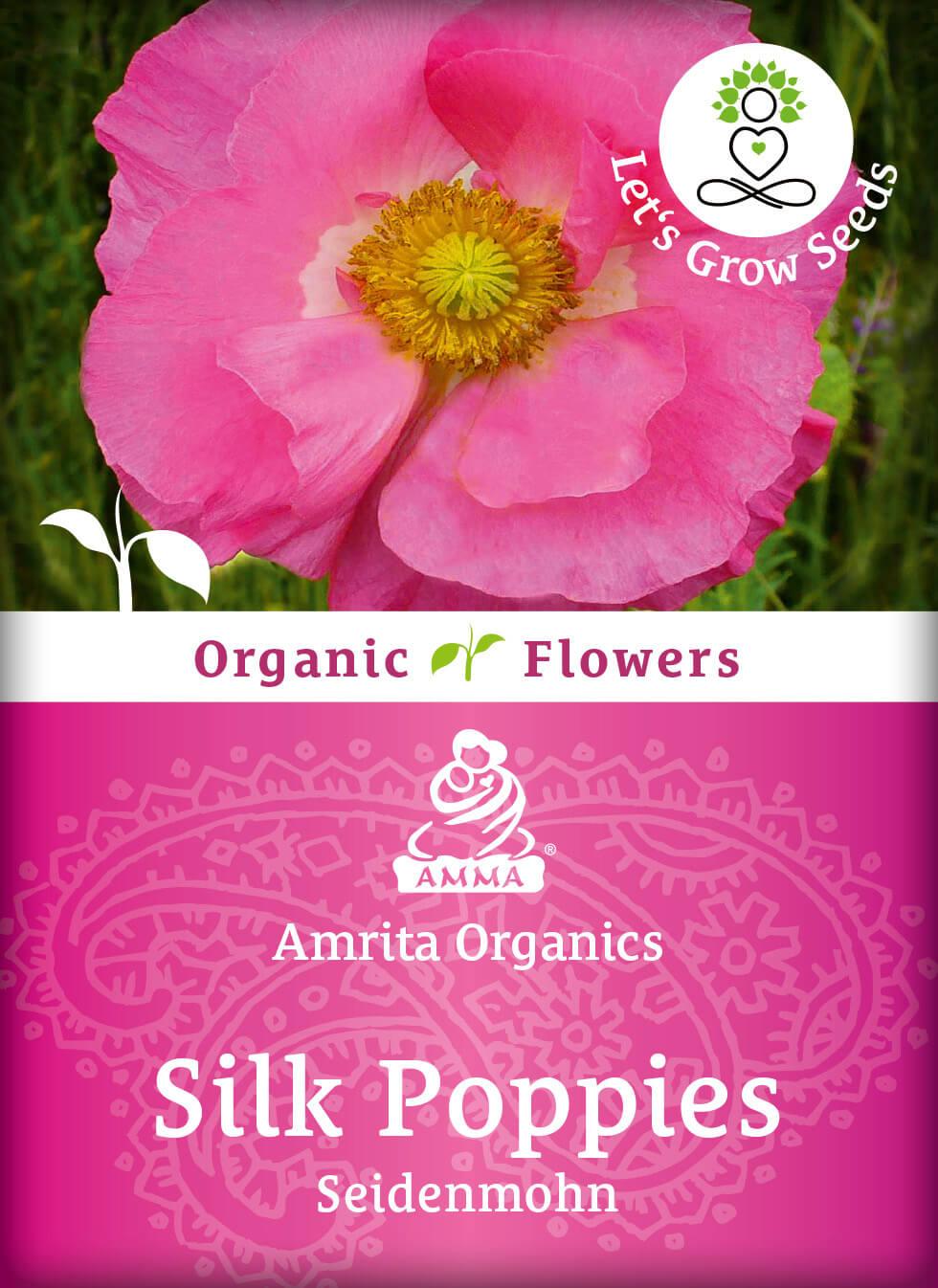 Silk Poppies, organic