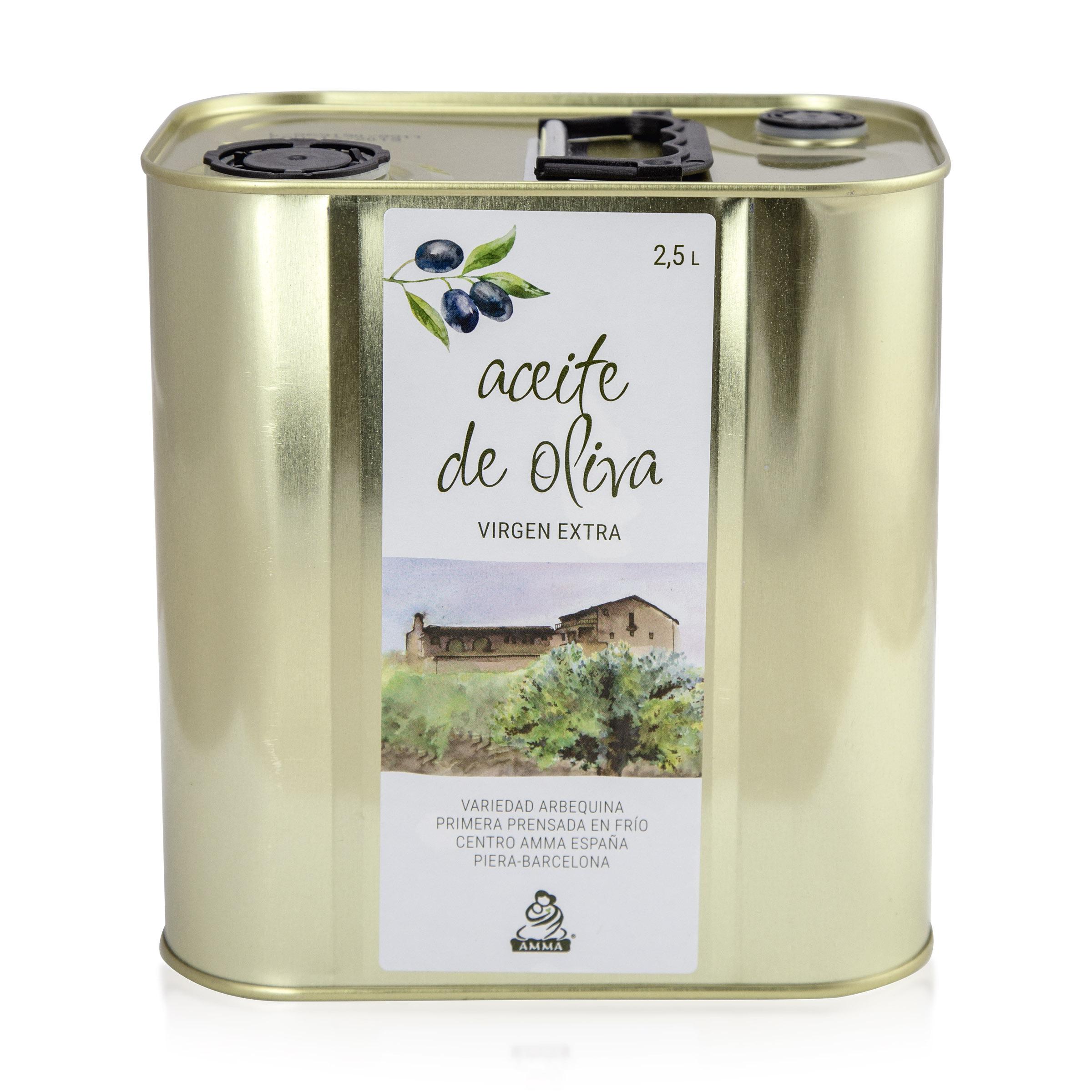 Spanish Virgin Olive Oil Extra 2,5 Liter