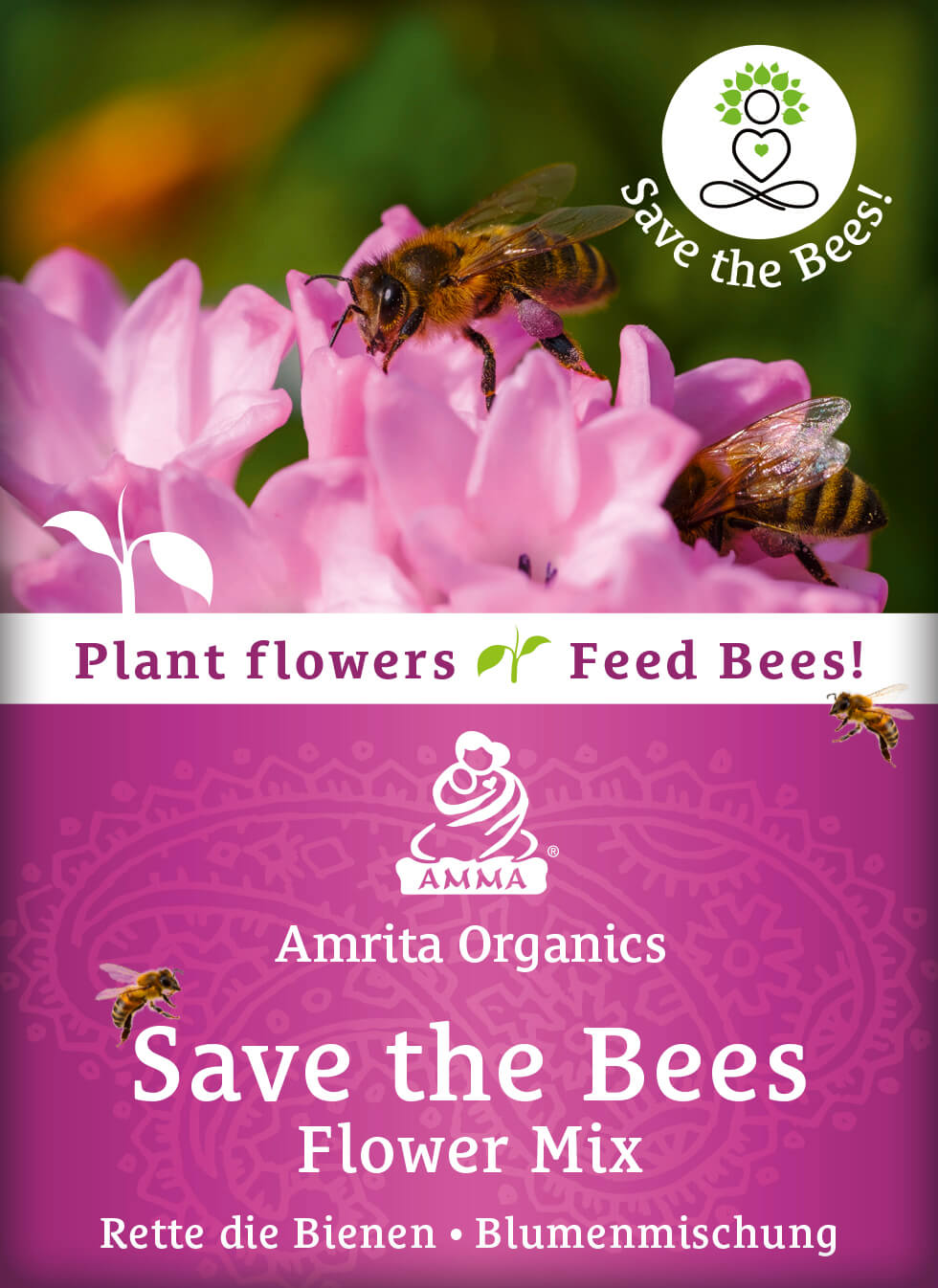 Save the bees - flower mixture, organic