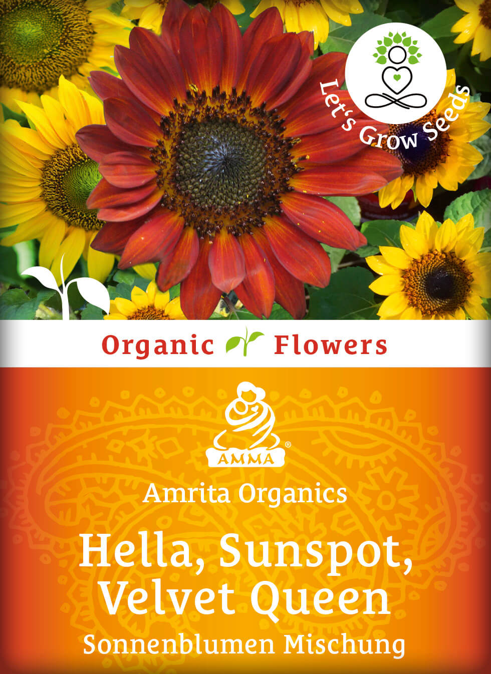 Sunflower-mix, organic