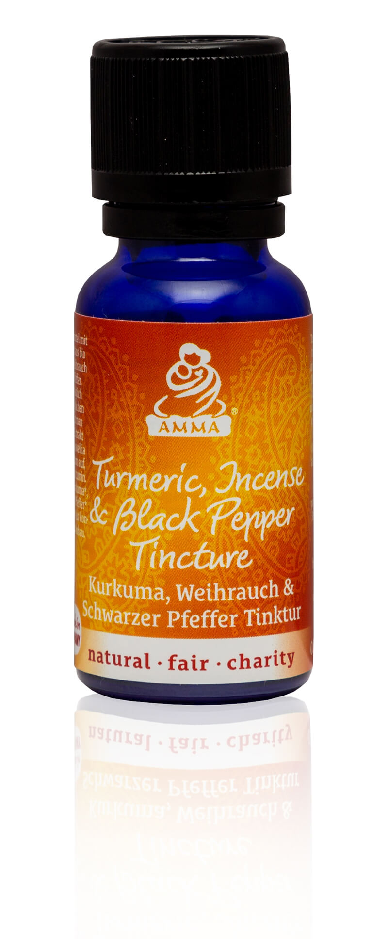 Turmeric, Frankincense and Black Pepper Tincture, organic