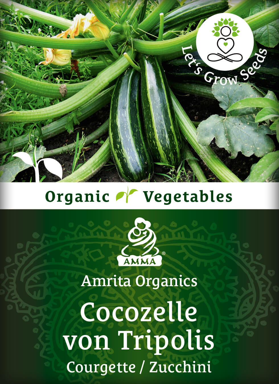 Courgette, organic
