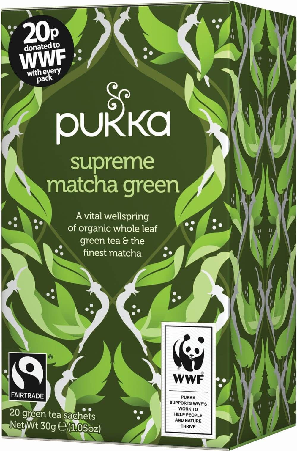 Matcha Green, organic tea