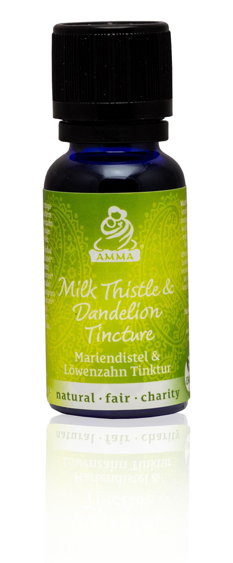 Milk Thistle & Dandelion Tincture, organic